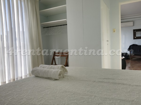 Juncal et Salguero: Apartment for rent in Buenos Aires