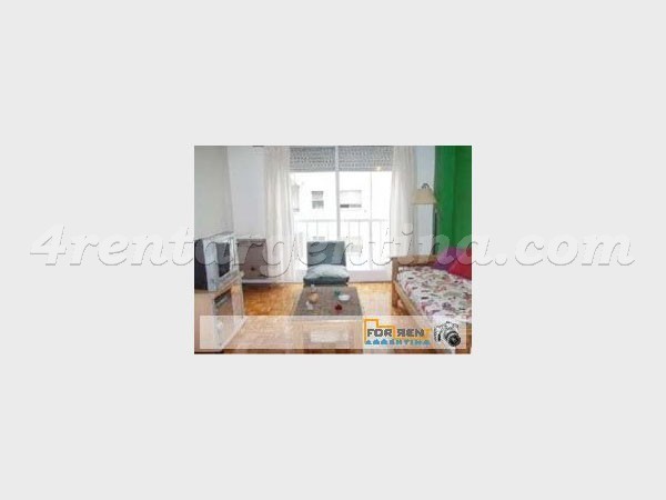 Juan B. Justo and Santa Fe: Furnished apartment in Palermo