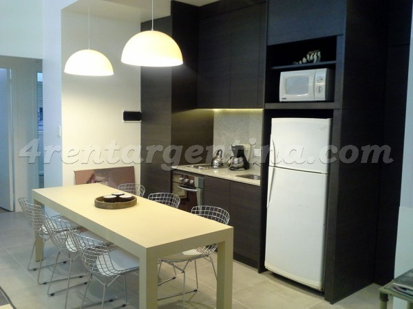 Bustamante and Santa Fe I: Furnished apartment in Palermo