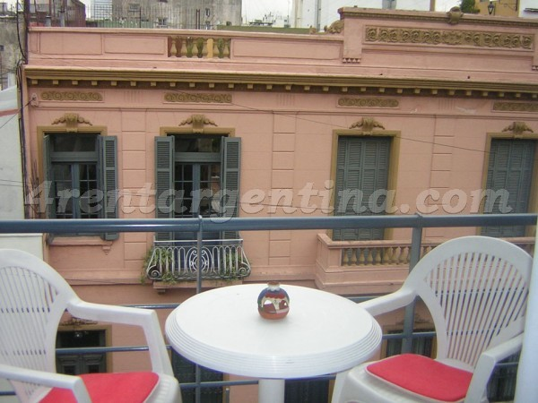 Humberto Primo and Piedras: Furnished apartment in San Telmo