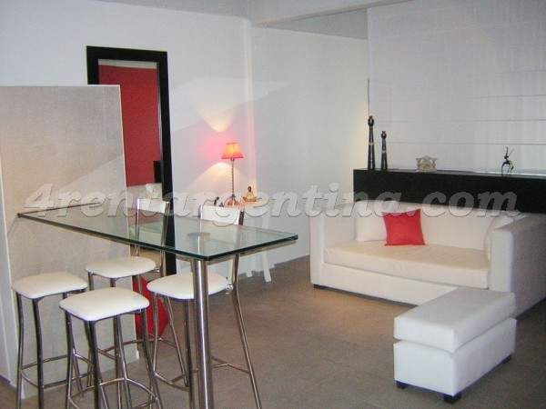 Humberto Primo and Piedras, apartment fully equipped