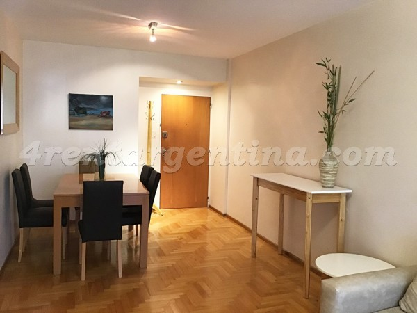 Baez and Rep. de Eslovenia, apartment fully equipped