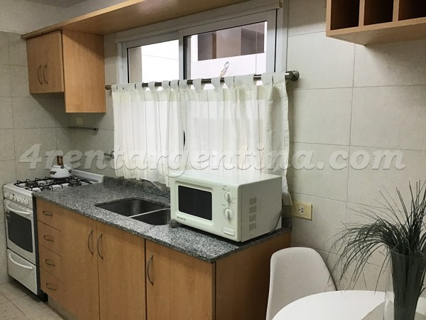Baez and Rep. de Eslovenia: Furnished apartment in Las Ca�itas