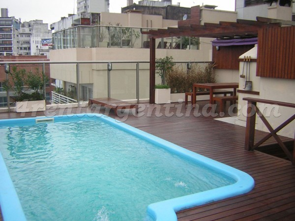 Soldado de la Independencia and Rep. de Eslovenia, apartment fully equipped