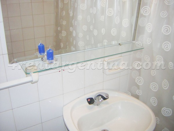 French and Pueyrredon, apartment fully equipped