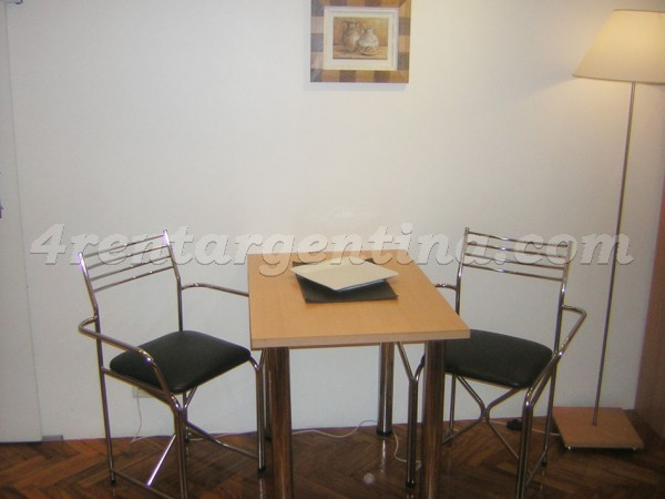 Pe�a and Ayacucho, apartment fully equipped