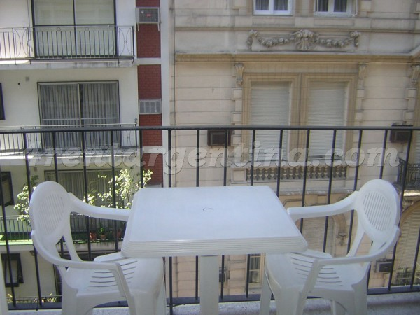 Pe�a and Ayacucho: Furnished apartment in Recoleta