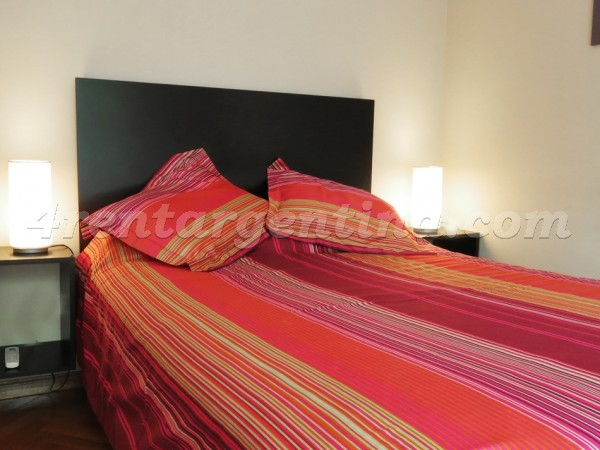 Paraguay and Bulnes: Apartment for rent in Palermo