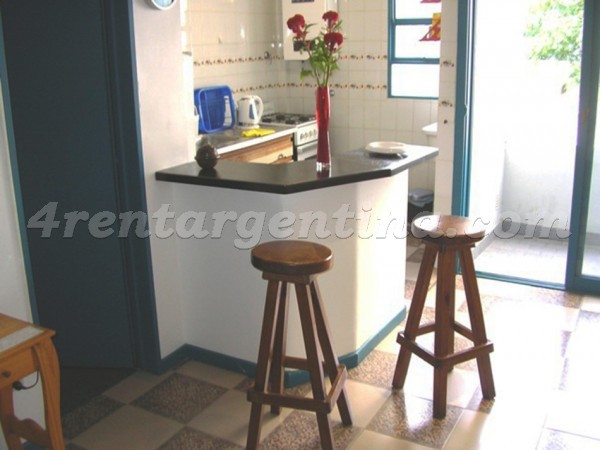 Julian Alvarez and Camargo: Apartment for rent in Almagro