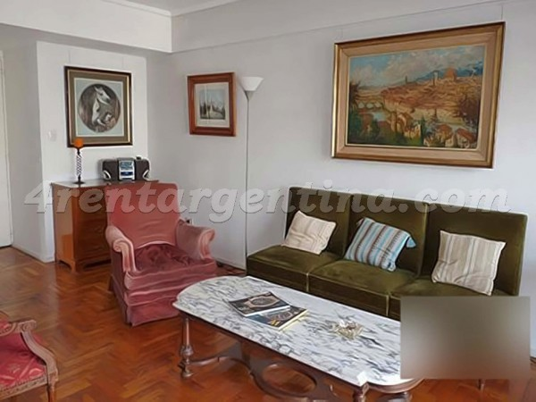 Guido and Callao I: Apartment for rent in Recoleta