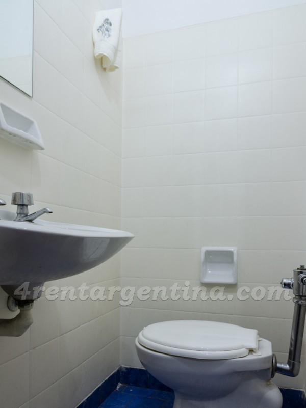 Salguero and Figueroa Alcorta, apartment fully equipped
