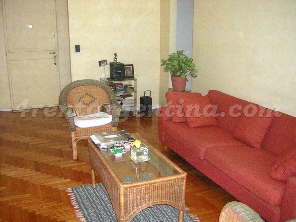 L.M. Campos and Zabala: Apartment for rent in Las Ca�itas