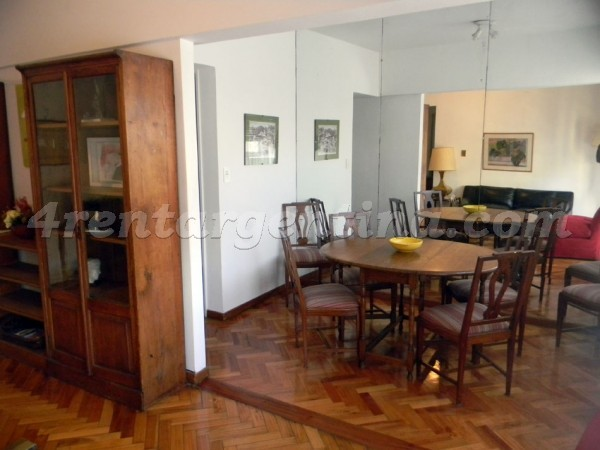 Uriburu and Melo: Furnished apartment in Recoleta