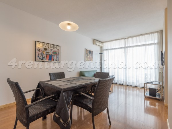 Gurruchaga et Charcas I: Furnished apartment in Palermo