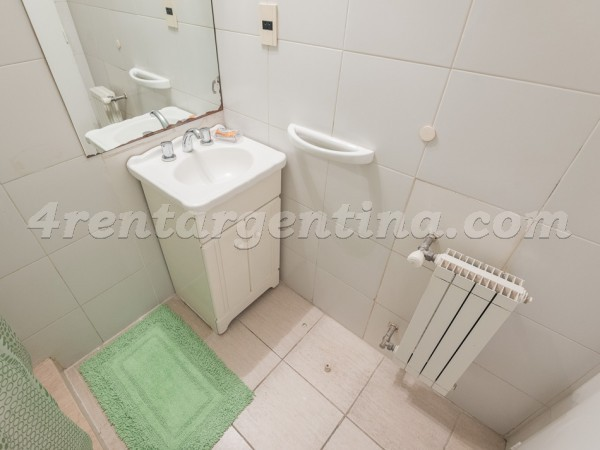 Gurruchaga and Charcas I, apartment fully equipped