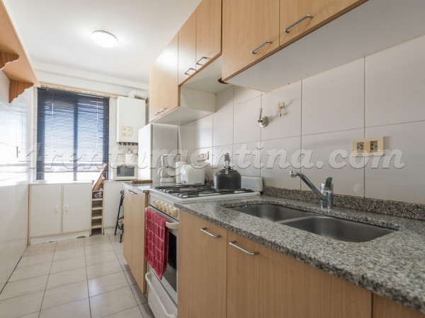 Gurruchaga and Charcas I: Furnished apartment in Palermo