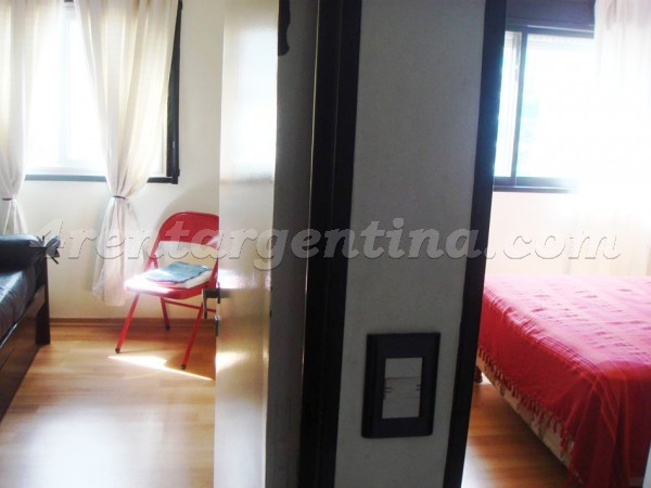 Cabello and Lafinur, apartment fully equipped