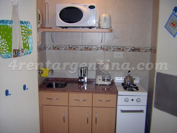 Uriburu et French I: Furnished apartment in Recoleta