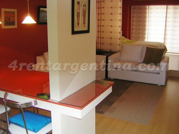 Corrientes and Callao II, apartment fully equipped