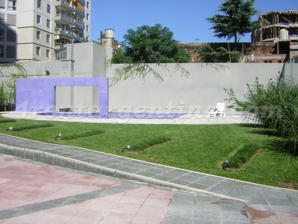 Dorrego et Cabildo, apartment fully equipped