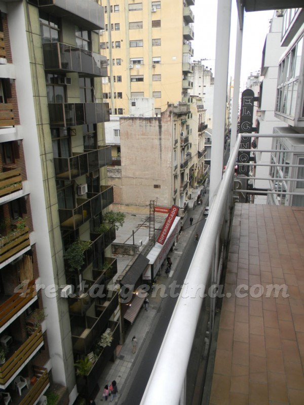 Suipacha and M.T. Alvear: Furnished apartment in Downtown