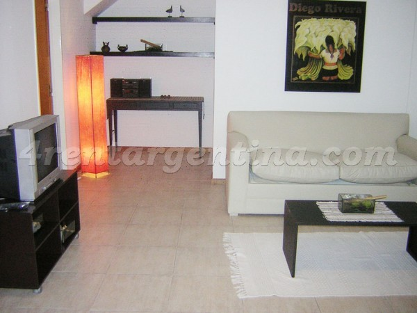 Zabala and Forest: Apartment for rent in Colegiales