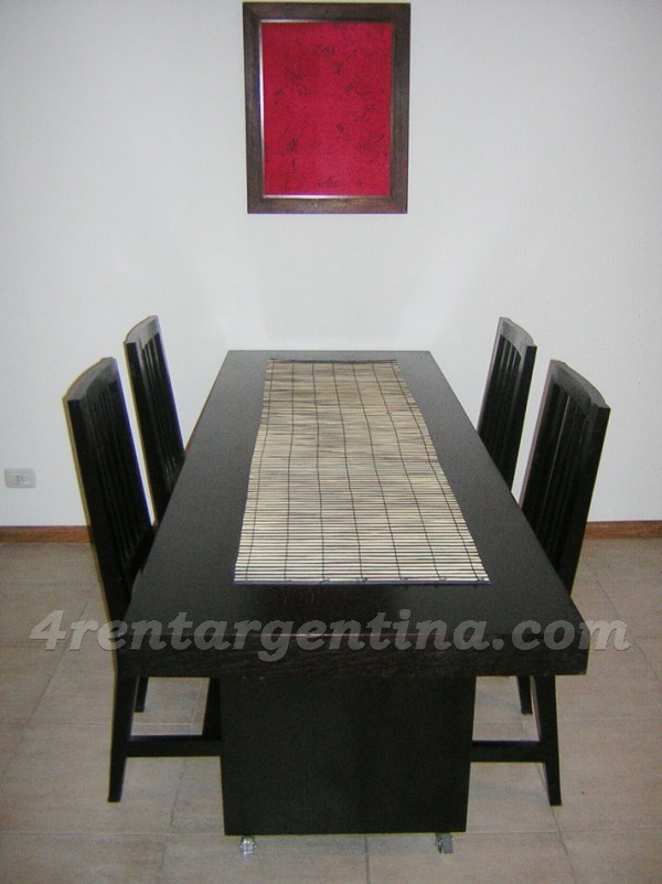Zabala and Forest: Furnished apartment in Colegiales