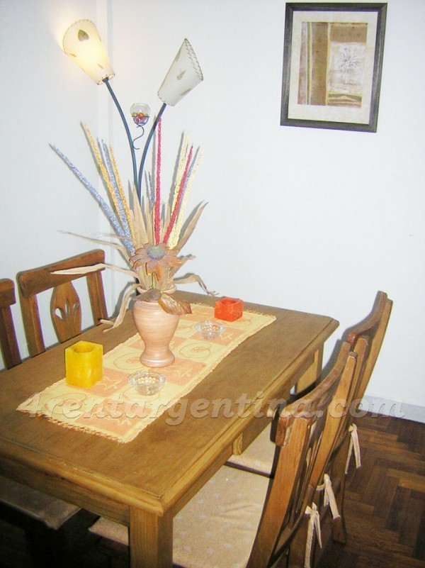 Borges and El Salvador I: Furnished apartment in Palermo