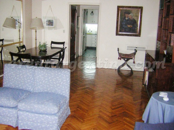 Las Heras and Callao, apartment fully equipped