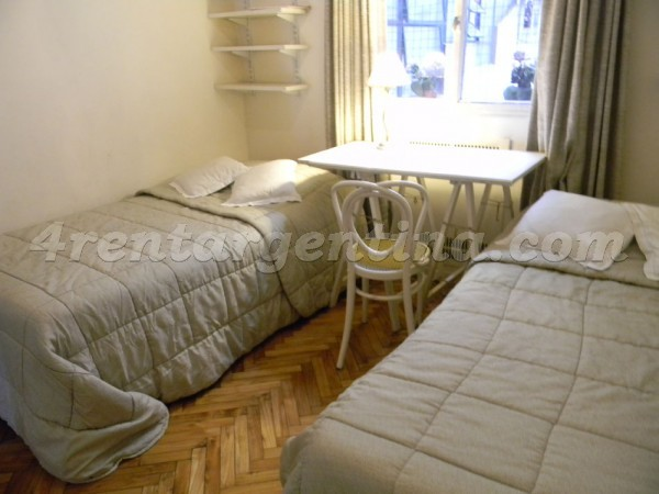 Las Heras and Callao: Apartment for rent in Recoleta