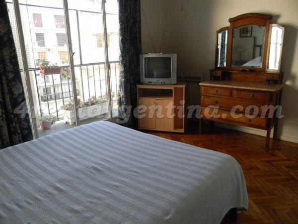 Las Heras and Callao: Furnished apartment in Recoleta