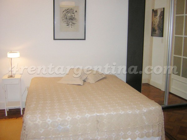 Parana and Rivadavia: Furnished apartment in Congreso
