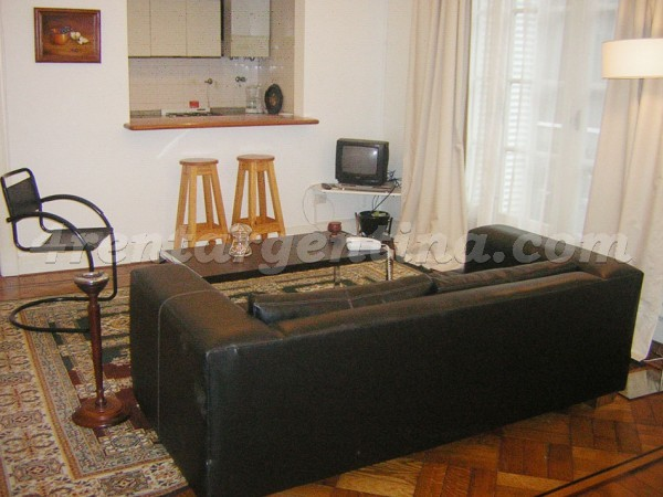 Parana and Rivadavia: Apartment for rent in Congreso
