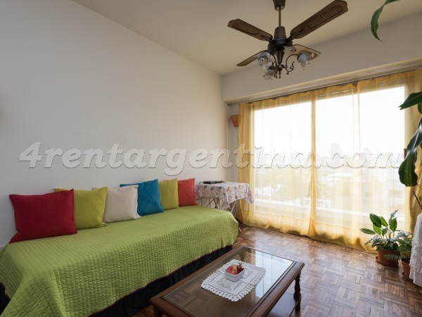 Lerma and Scalabrini Ortiz, apartment fully equipped