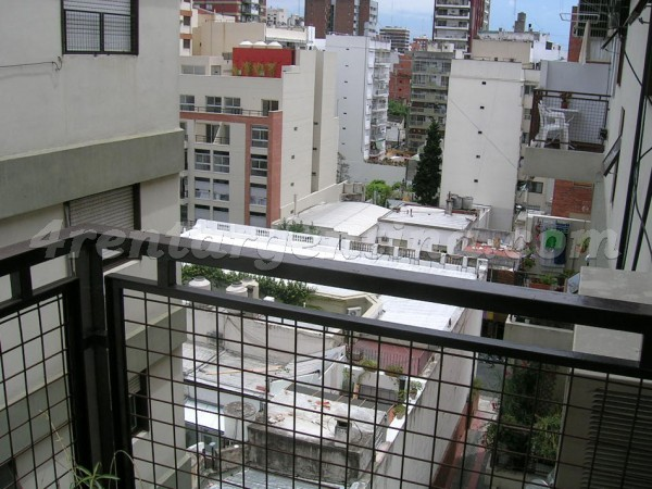 Moldes and Juramento: Furnished apartment in Belgrano