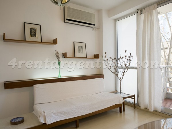 Guatemala and Dorrego: Furnished apartment in Palermo