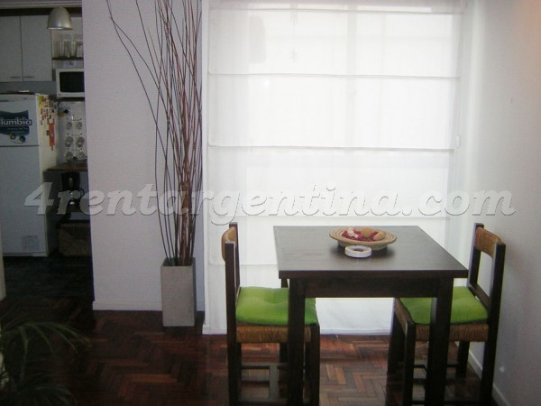 Teodoro Garcia and Ciudad de la Paz: Furnished apartment in Belgrano