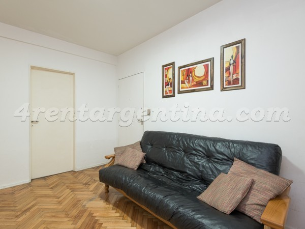 Billinghurst and Mansilla: Apartment for rent in Palermo
