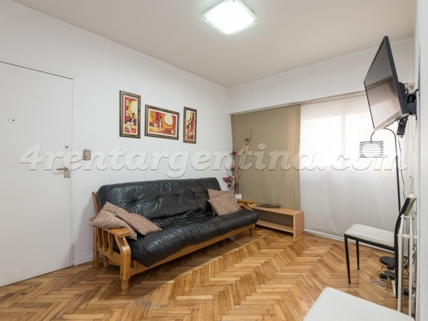 Billinghurst and Mansilla: Furnished apartment in Palermo