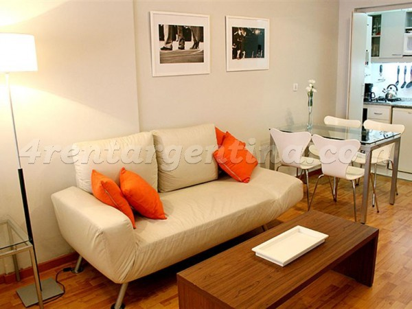 Callao and Santa Fe: Apartment for rent in Downtown