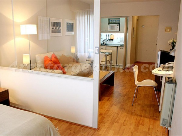 Callao and Santa Fe: Furnished apartment in Downtown