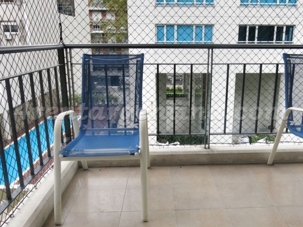 Thames and Charcas, apartment fully equipped