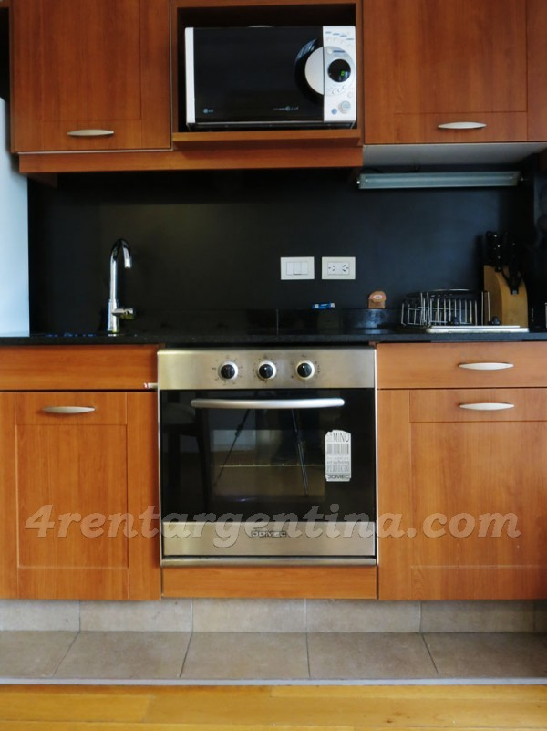 Thames and Charcas: Furnished apartment in Palermo