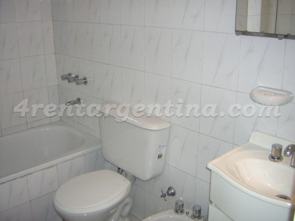Bulnes and Corrientes: Apartment for rent in Almagro