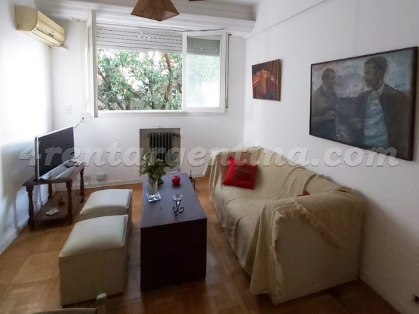Santa Fe and Aguero: Furnished apartment in Palermo
