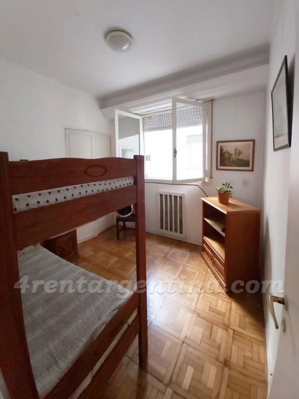 Apartment Santa Fe and Aguero - 4rentargentina