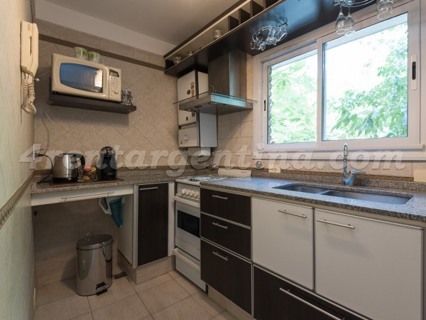 Gurruchaga and Charcas II: Furnished apartment in Palermo