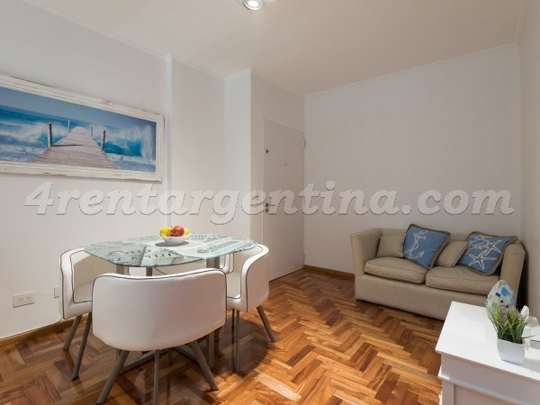 Gurruchaga and Charcas II, apartment fully equipped