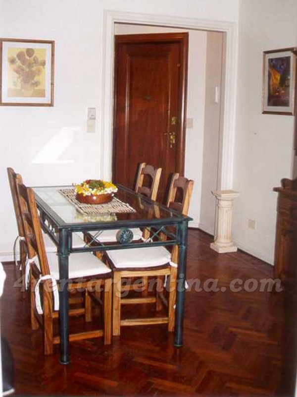 Guido et Junin I: Apartment for rent in Recoleta