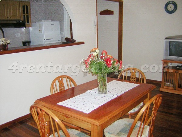 Junin et Bme. Mitre: Furnished apartment in Congreso